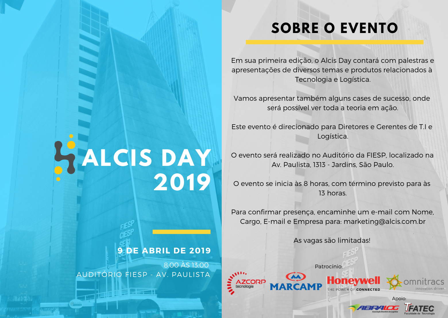 ALCIS DAY 2019 – Dia 9 de abril de 2019